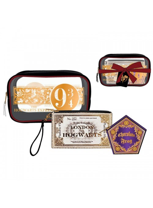 Set 3 portatodos Harry Potter