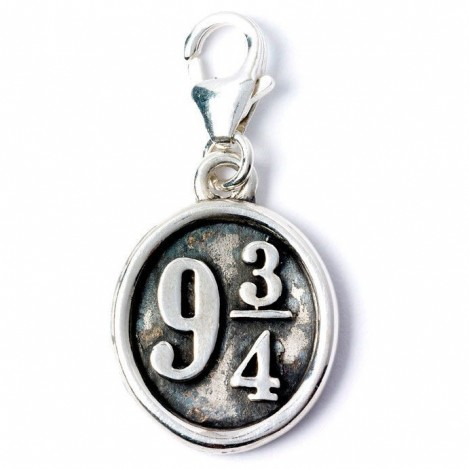 Colgante Charm Collection Platform 9 3/4 Harry Potter plata