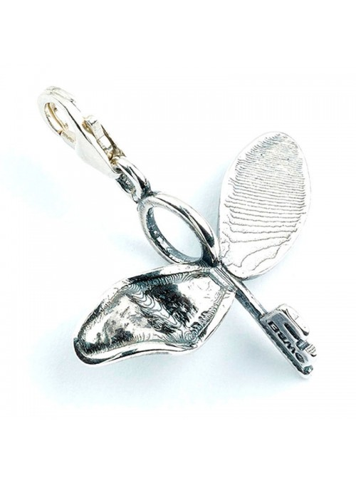 Colgante Charm Collection Flying Key Harry Potter plata