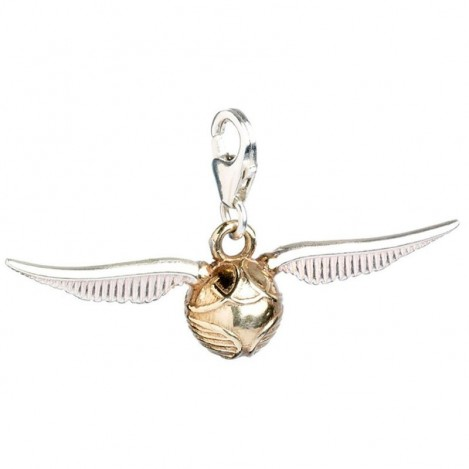 Colgante Charm Collection Golden Snitch Harry Potter plata
