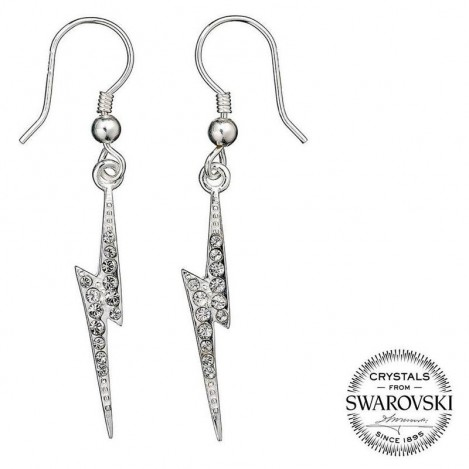 Pendientes SWAROVSKI Lightening Bolt Harry Potter