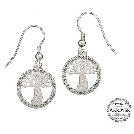Earrings SWAROVSKI Whooping Willow Harry Potter