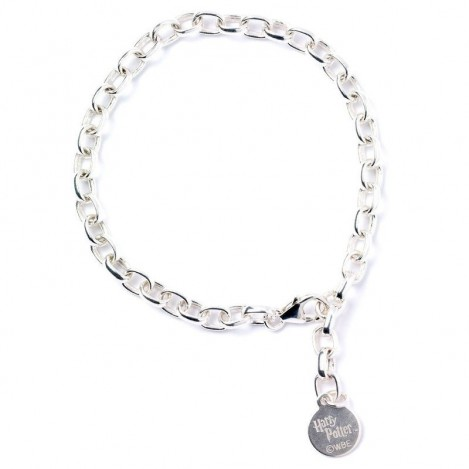 Pulsera Harry Potter plata adulto