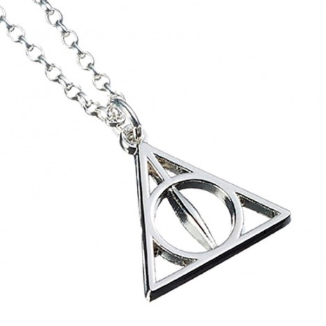 Pendant Deathly Hallows Harry Potter silver