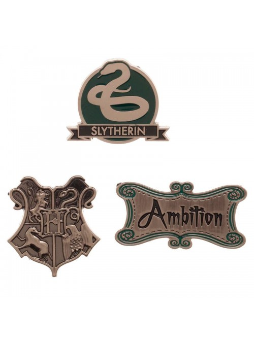 Set pin Slytherin Harry Potter