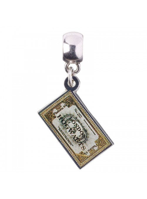 Pendant Charm Collection Hogwarts Express Ticket Harry Potter