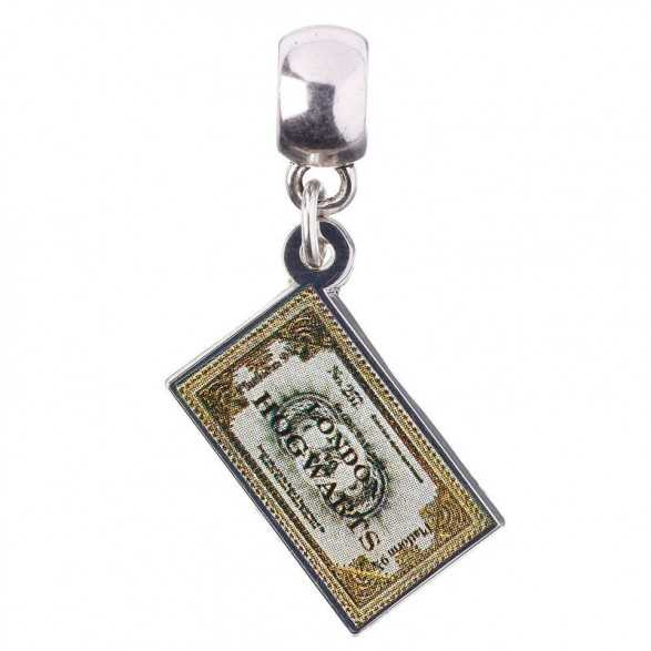 Colgante Charm Collection Hogwarts Express Ticket Harry Potter