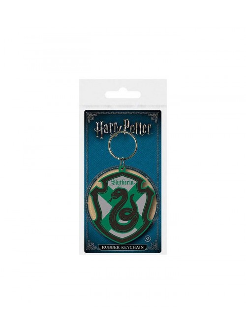 Llavero escudo color Slytherin - Harry Potter