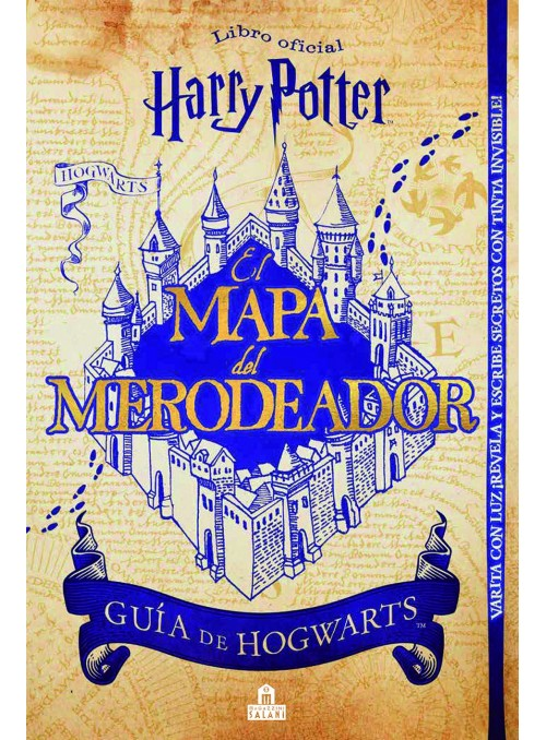 The Map of the Marauder ( guide to Hogwarts) - Harry Potter