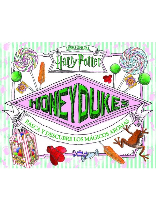 Honey Dukes (scratch and discover the magical scents) - Harry Potter