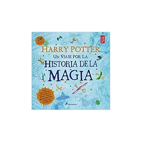 Book Harry Potter: A journey through the history of magic