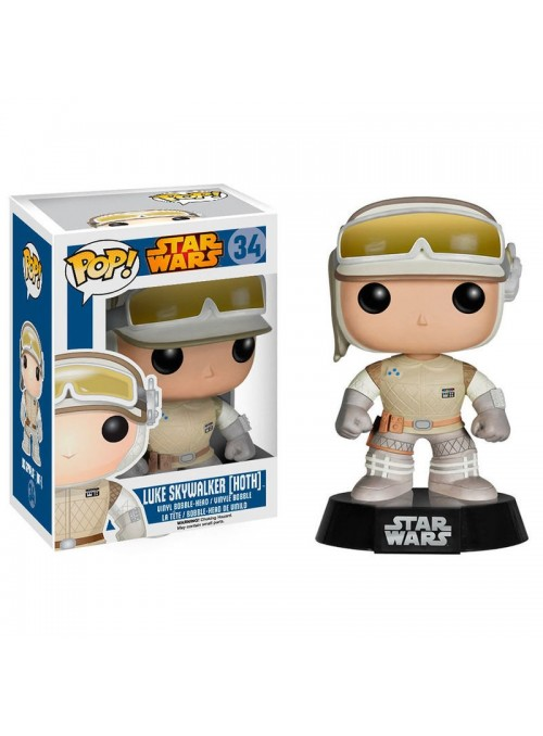 Figura POP Luke Skywalker Hoth - Star Wars