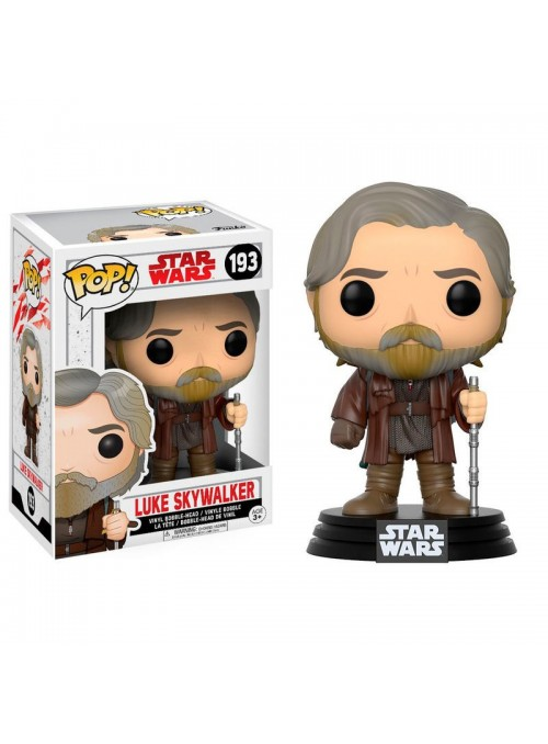 Figura POP Luke Skywalker - Star Wars The Last Jedi