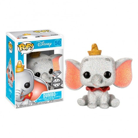 Figura Funko POP Dumbo Glitter Exclusive - Disney