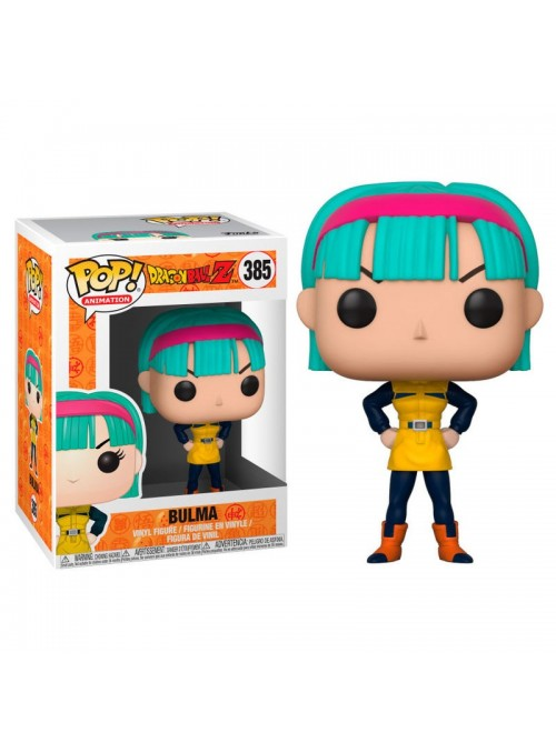Figura POP Bulma - Dragon Ball Z