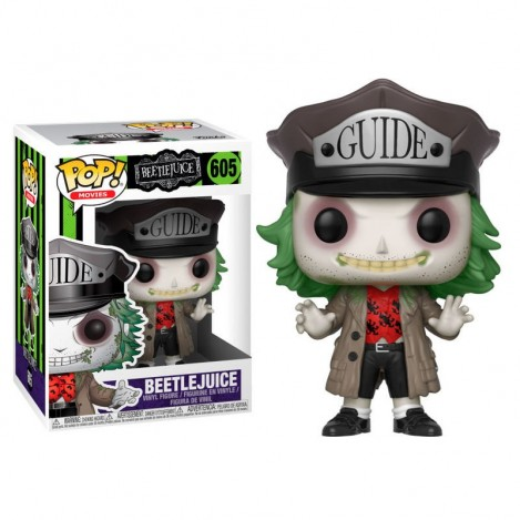 Figura Funko POP Beetlejuice with Hat - Beetlejuice