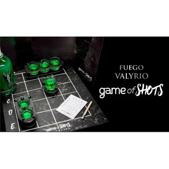 Fuego Valyrio Game of Shots - a Game of Thrones