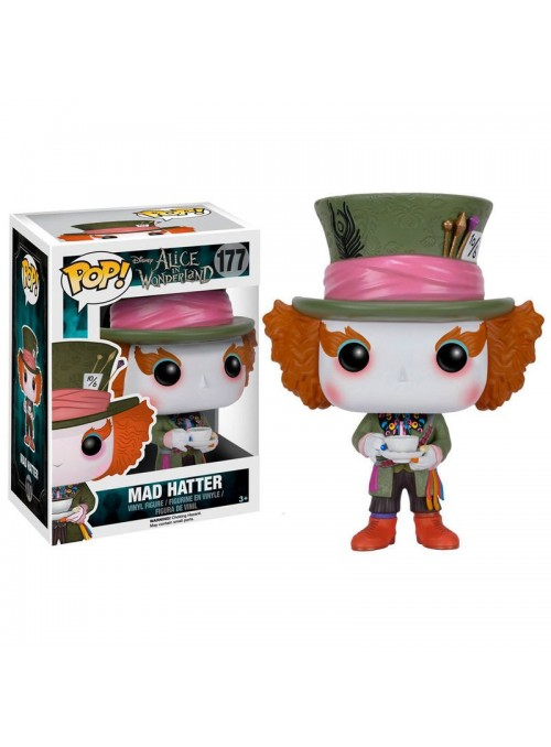 Figura POP Mad Hatter - Alice in Wonderland