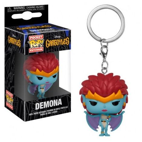 Llavero Pocket Funko POP Demona - Gárgolas