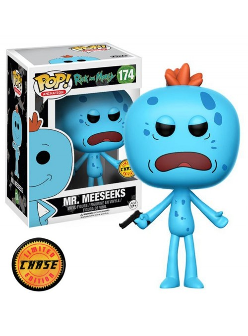 Figura POP Mr. Meeseeks Chase - Rick and Morty