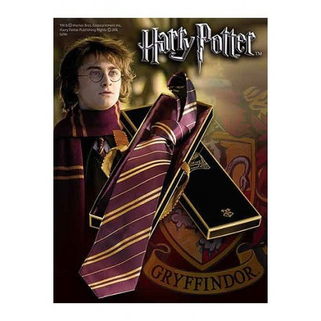 Tie Gryffindor in box - Harry Potter