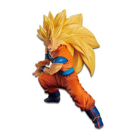 Figura Super Saiyan 3 Son Gokou Fes 14cm - Dragon Ball