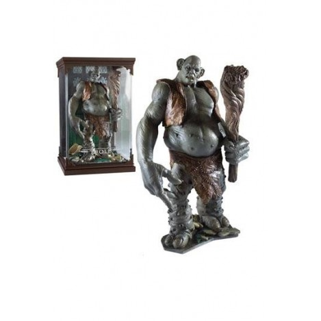 Estatua Magical Creatures Troll 13 cm - Harry Potter