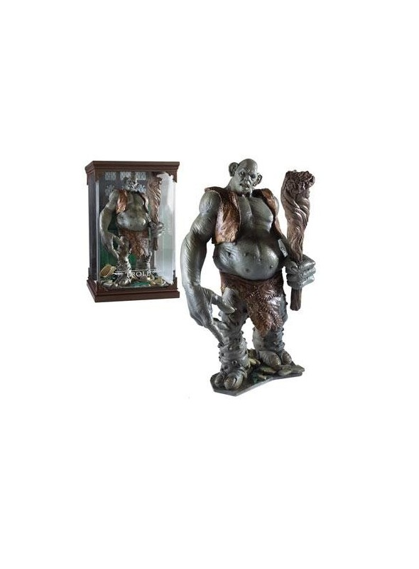 Statue of Magical Creatures Troll 13 cm - Harry Potter