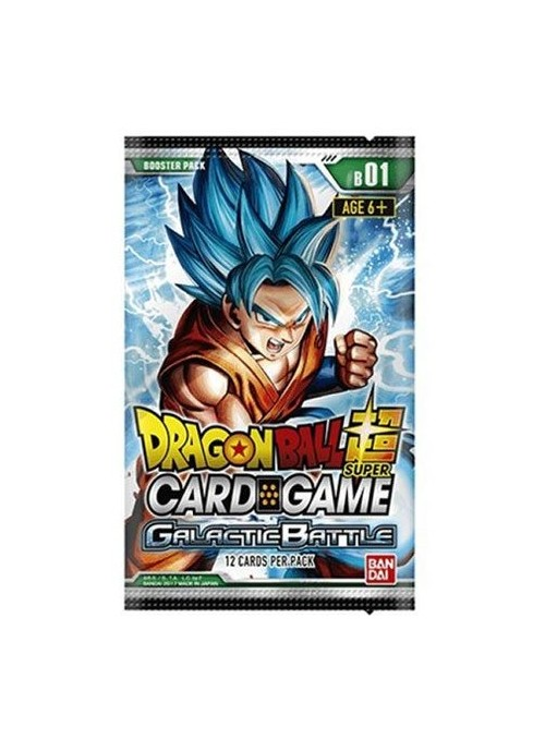Dragon ball Super Card Game serie 1 Galactic Battle (Edición Inglés) - Dragon ball