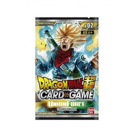 Dragon ball Super Card Game Serie 2 Union Force (Edición Inglés) - Dragon ball