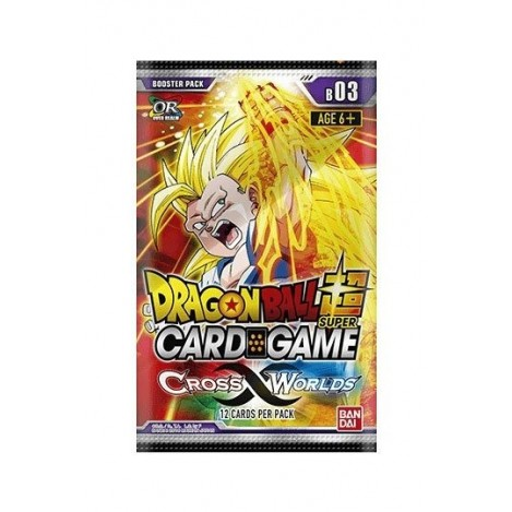 Dragon ball Super Card Game Serie 3 Cross Worlds (Edición Inglés)