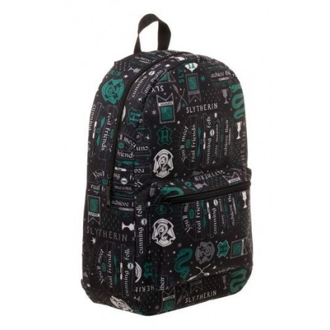 Mochila Icon Print Slytherin - Harry Potter