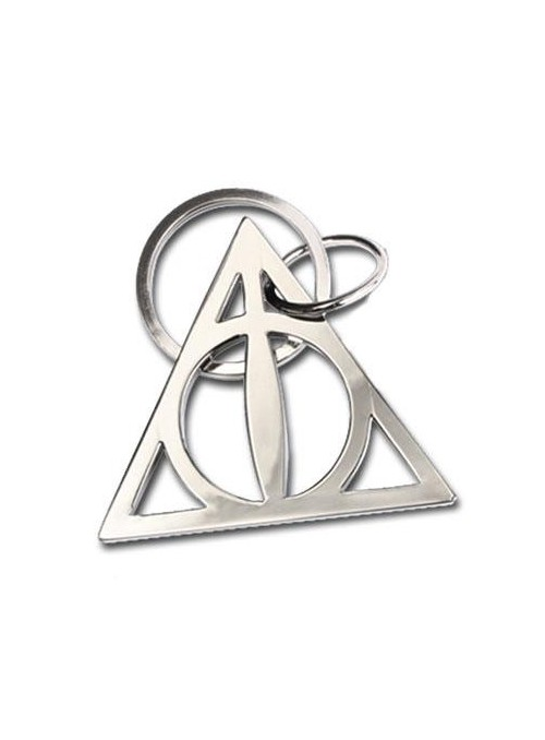 Llavero metálico Deathly Hallows 5 cm - Harry Potter
