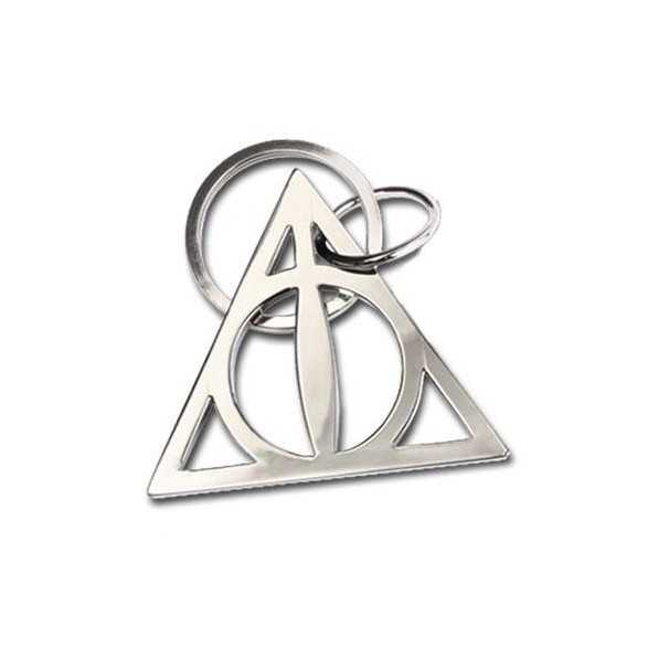 Chaveiro metálico Deathly Hallows 5 cm - Harry Potter