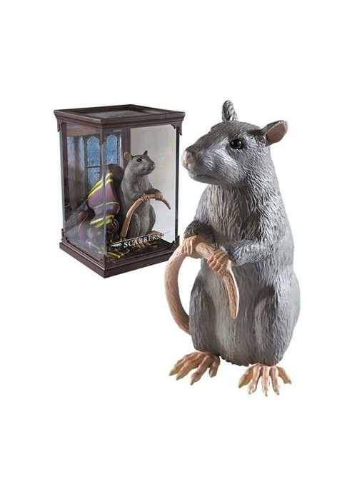 Statue of Magical Creatures Scabbers 13 cm - Harry Potter
