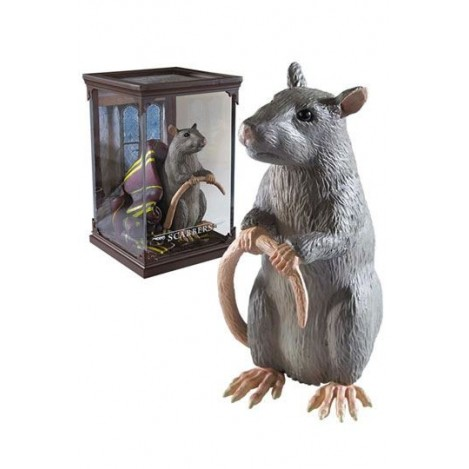Estatua Magical Creatures Scabbers 13 cm - Harry Potter