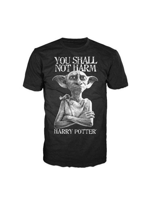 Camiseta Dobby - You Shall Not Harm - Harry Potter