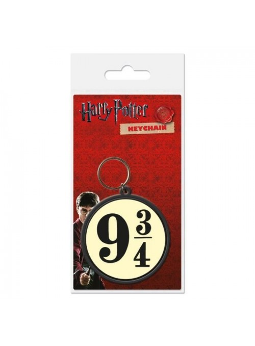 Keychain rubber 9 3/4 - Harry Potter