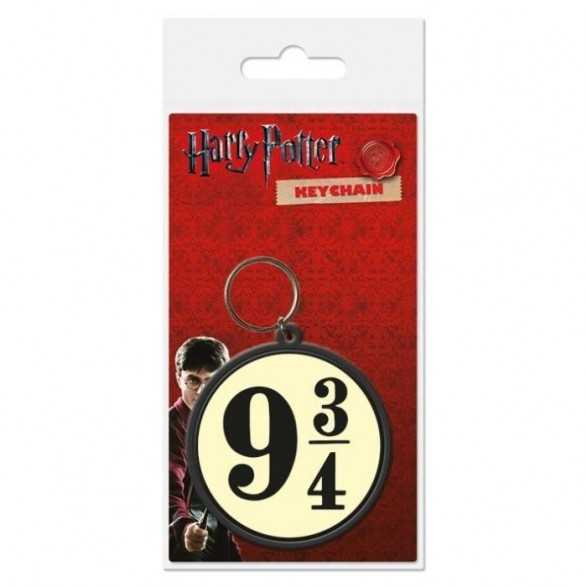 Keychain rubber 9 3/ - Harry Potter