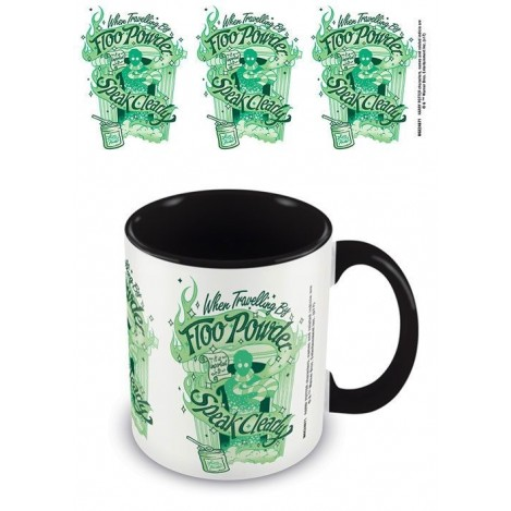 Taza Polvos Flu - Harry Potter