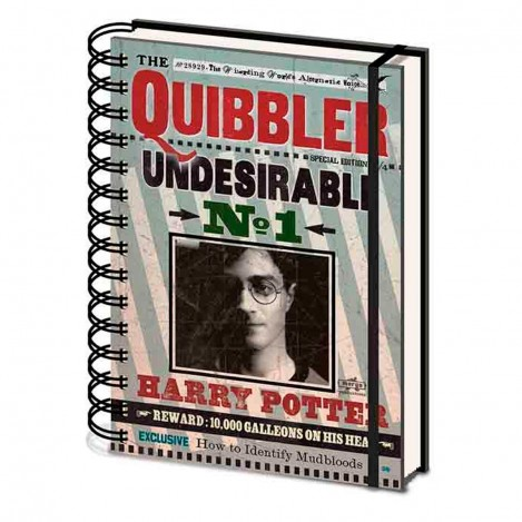 Libreta Quibble Harry Potter