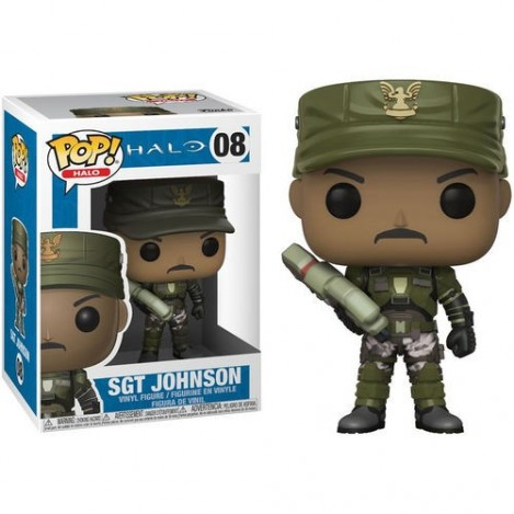 Figura Funko POP Sgt. Johnson - Halo