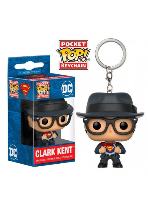 Llavero Pocket Funko POP Clark Kent - DC Superman