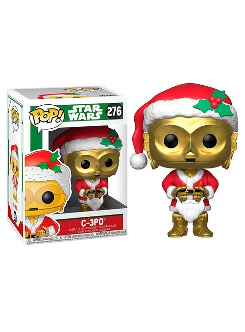 Figura POP Holiday C-3PO as Santa - Star Wars
