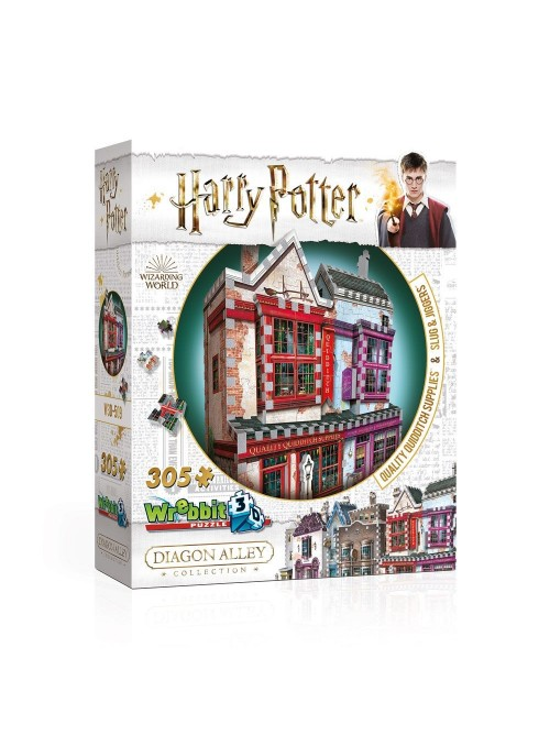 3D Puzzle DAC Quality Quidditch Supplies & Slug & Jiggers Apothecary - Harry Potter