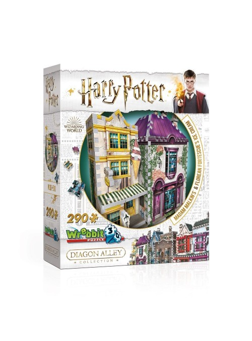 Puzzle 3D DAC Madam Malkin's Robes for All Occasions & Florean Fortescue's Ice Cream - Harry Potter