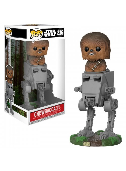 Figure POP AT-ST with Chewbacca - Star Wars