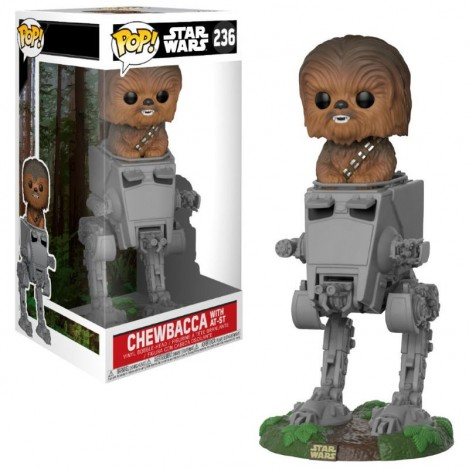 Figura Funko POP AT-ST with Chewbacca - Star Wars