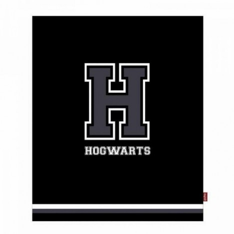 Manta H per a Hogwarts 125 x 150 cm - Harry Potter