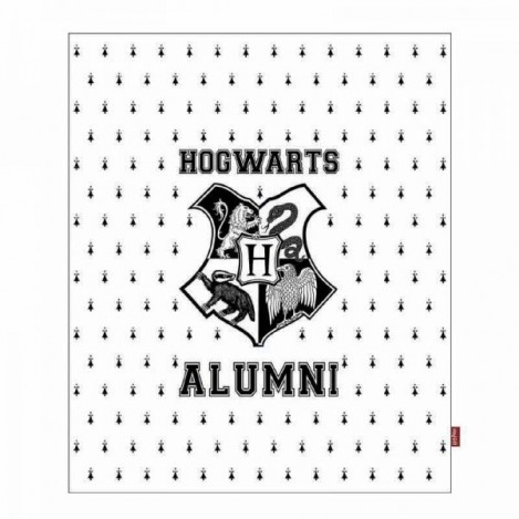 Manta Hogwarts Alumni 125 x 150 cm - Harry Potter